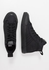 Diesel - S-ASTICO MID LACE - Sneakers high - black - 1