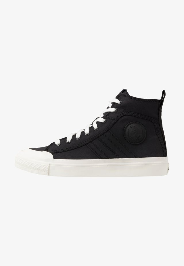 ASTICO S-ASTICO MID LACE - High-top trainers - black/white