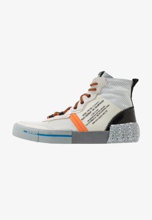 S-DESE MG MID - Höga sneakers - star white/dirty