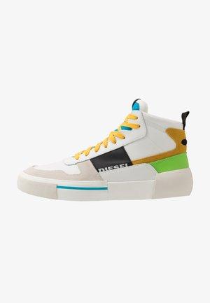 S-DESE MG MID - Sneakersy wysokie - star white/hawaiian