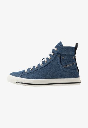 MAGNETE EXPOSURE I - High-top trainers - indigo
