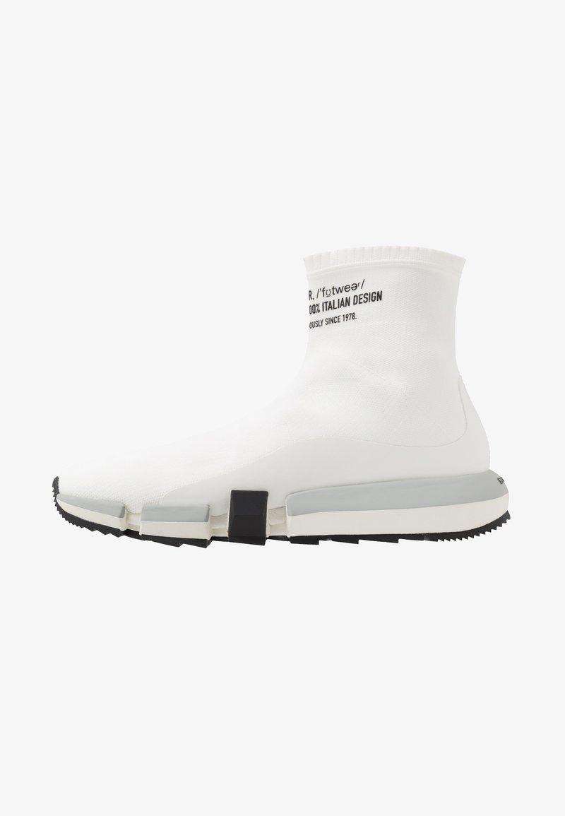 Diesel - H-PADOLA HIGH SOCK - Sneakers hoog - star white