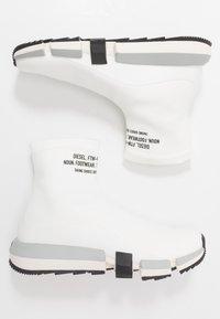 Diesel - H-PADOLA HIGH SOCK - Sneakers hoog - star white - 1