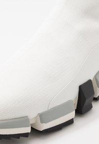 Diesel - H-PADOLA HIGH SOCK - Sneakers hoog - star white - 5