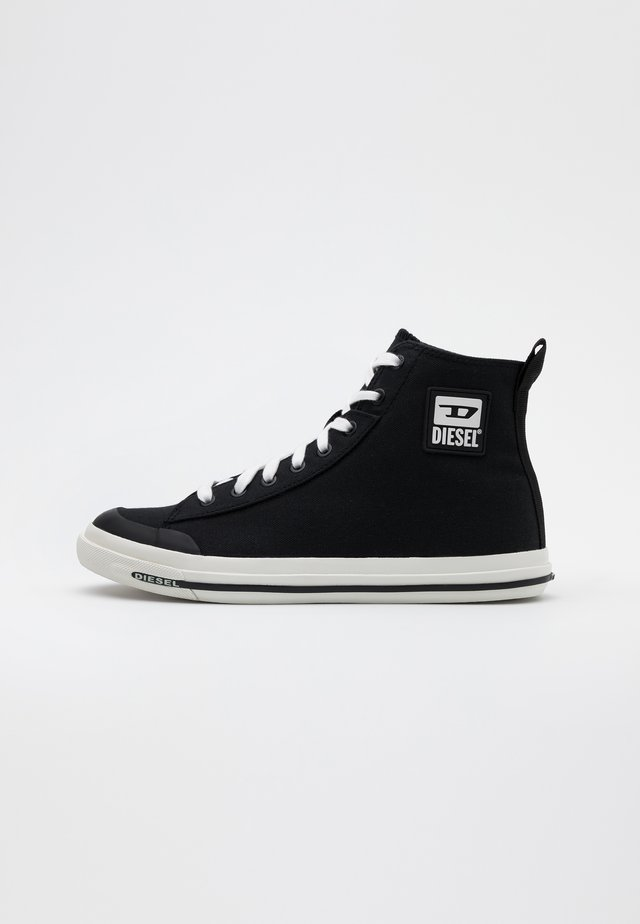 ASTICO S-ASTICO MID CUT  - Korkeavartiset tennarit - black