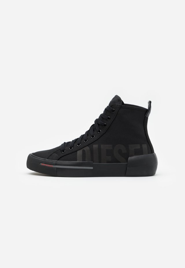 DESE S-DESE MID CUT - Korkeavartiset tennarit - black