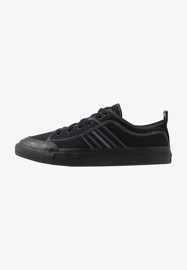 S-ASTICO LOW LACE - Matalavartiset tennarit - black