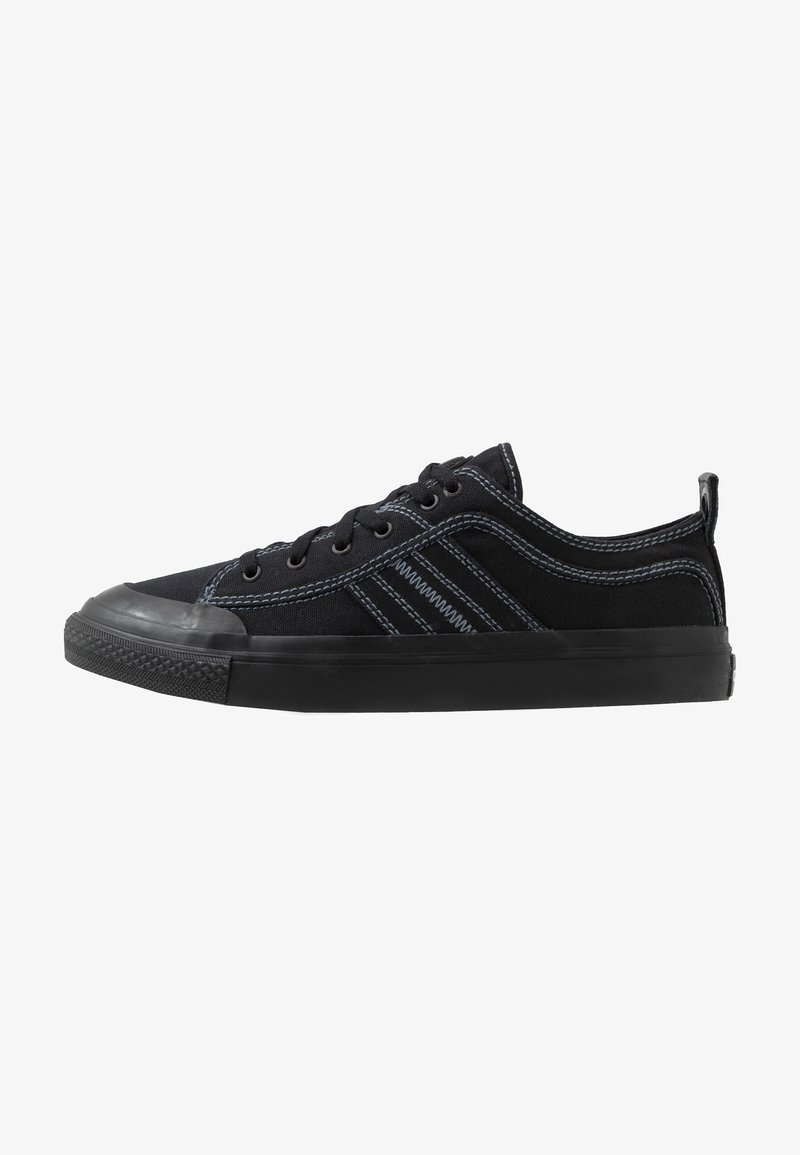 Diesel - S-ASTICO LOW LACE - Matalavartiset tennarit - black
