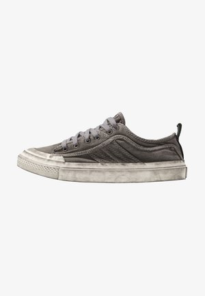 S-ASTICO LOW LACE - Sneakers laag - gunmetal