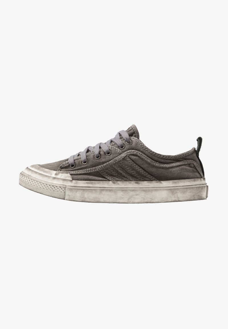 Diesel - S-ASTICO LOW LACE - Trainers - gunmetal