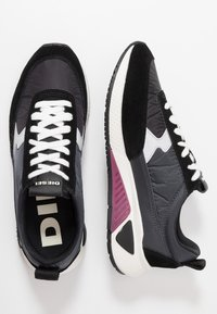 Diesel - S-KB LOW LACE II - Tenisky - dark shadow/black - 1