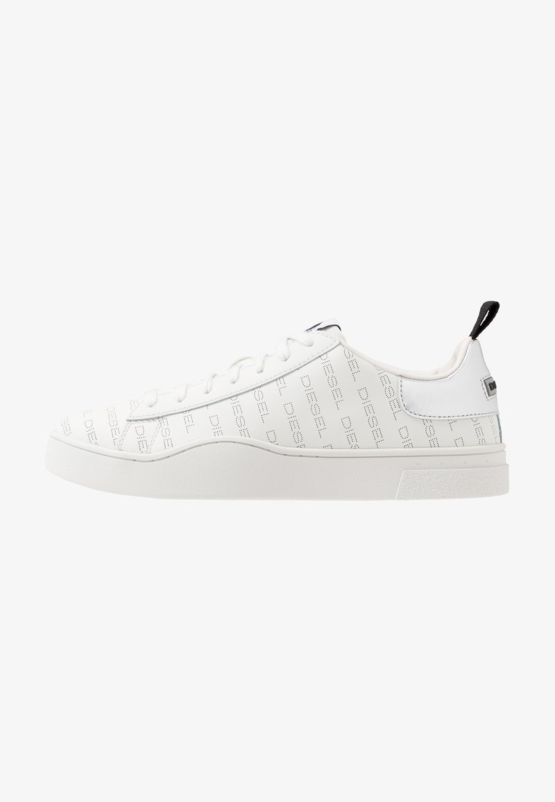 Diesel - S-CLEVER LOW LACE - Zapatillas - star white/silver