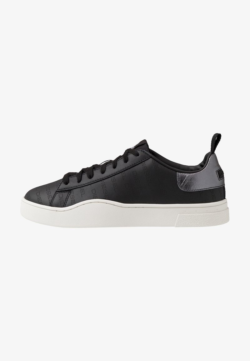 Diesel - S-CLEVER LOW LACE - Trainers - black/star white