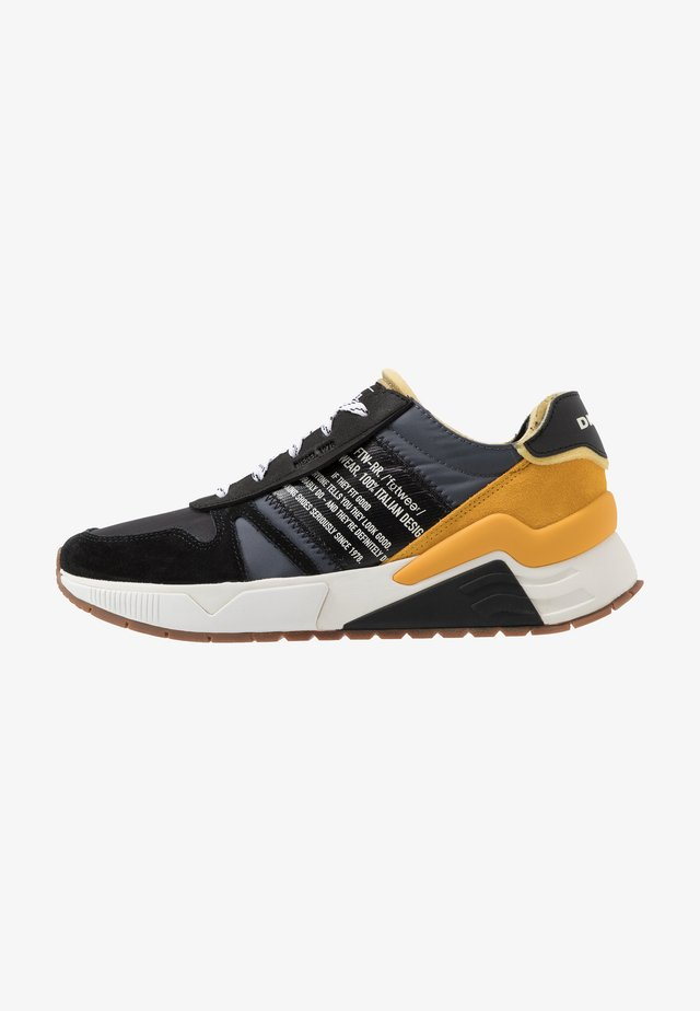 S-BRENTHA FLOW - Sneakers laag - iron gate/black/golden