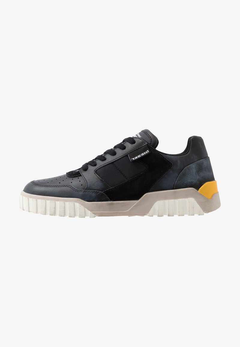 Diesel - S-RUA LOW90 - Sneakers - black/castle rock