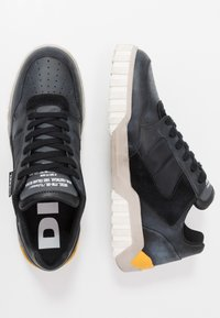 Diesel - S-RUA LOW90 - Sneakers - black/castle rock - 1