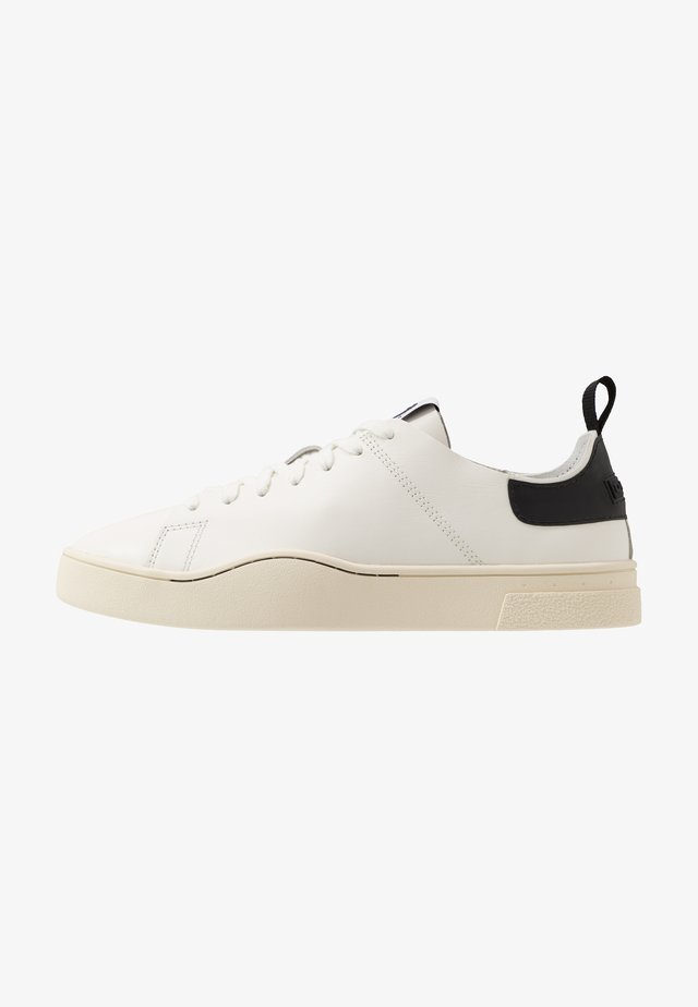 S-CLEVER LS - Sneakers laag - star white/black