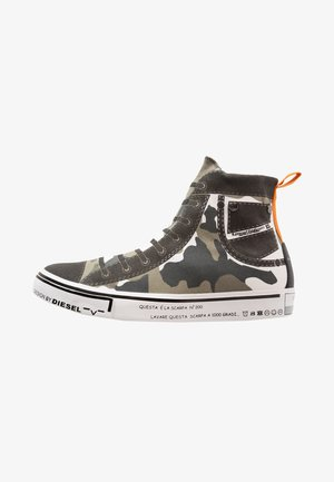S-IMAGINEE MID - Sneaker high - military