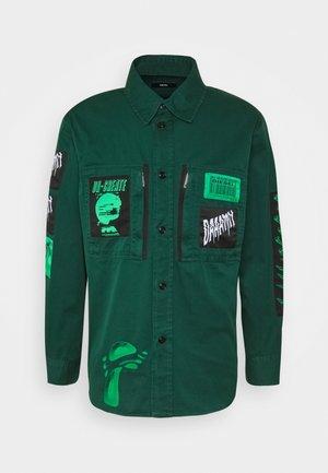 S-MARCUS SHIRT UNISEX - Overhemd - dark green
