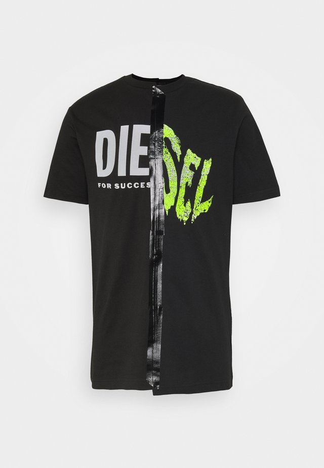 JUBBLE UNISEX - T-shirt print - black