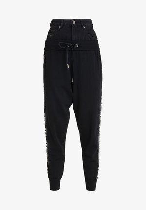 M-SUIT-A TROUSERS - Teplákové kalhoty - black
