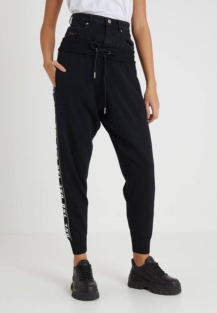 Diesel - M-SUIT-A TROUSERS - Pantalones deportivos - black