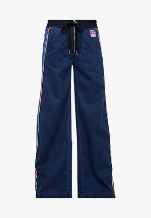 D-ERINN-NE - JOGG JEANS - Flared Jeans - indigo