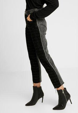 GITTE NEW - Kalhoty - black