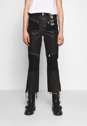 DE-EARLIE TROUSERS - Kalhoty - black