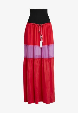 O-LIN SKIRT - Maxirok - red