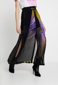 Diesel - O-POPLIA SKIRT - Maxi skirt - black - 0