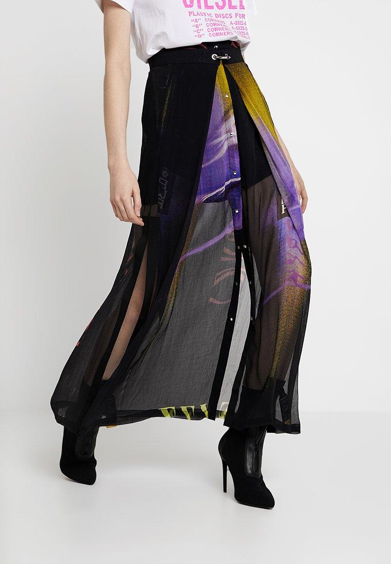 Diesel - O-POPLIA SKIRT - Maxi skirt - black