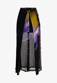 Diesel - O-POPLIA SKIRT - Maxi skirt - black - 4