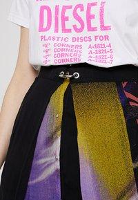 Diesel - O-POPLIA SKIRT - Maxi skirt - black - 5