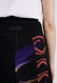 Diesel - O-POPLIA SKIRT - Maxi skirt - black - 3