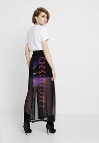 Diesel - O-POPLIA SKIRT - Maxi skirt - black - 2