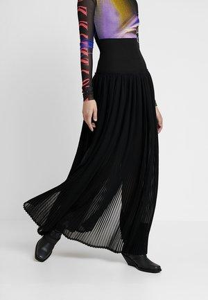 TERUPE SKIRT - Falda plisada - black