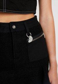 Diesel - O-BRYEL-A GONNA - A-line skirt - black - 3