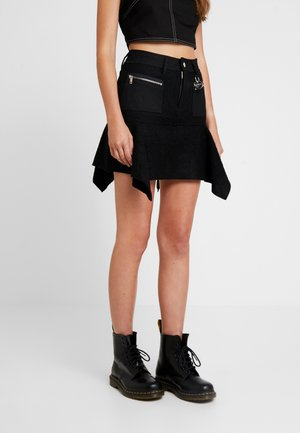 O-BRYEL-A GONNA - Áčková sukně - black