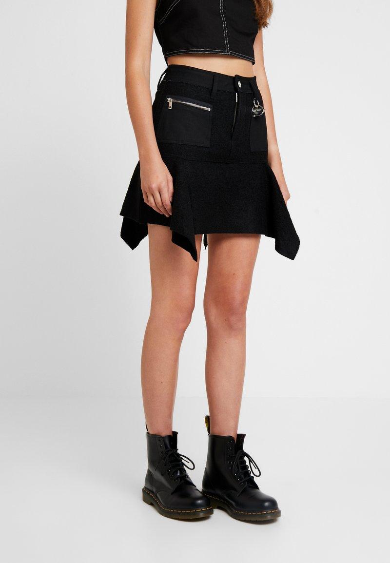 Diesel - O-BRYEL-A GONNA - A-line skirt - black