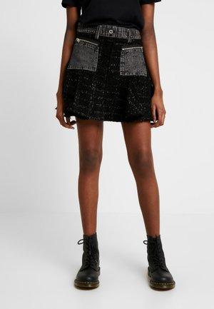 NYELA SKIRT - Áčková sukně - black