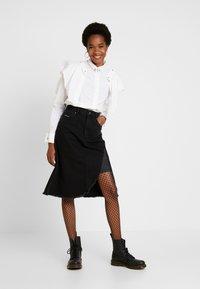 Diesel - DE-SISIL SKIRT - A-line skirt - black - 1