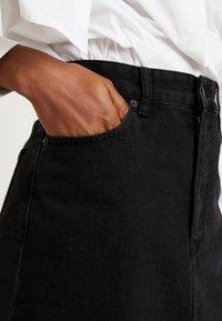 Diesel - DE-SISIL SKIRT - A-line skirt - black - 3