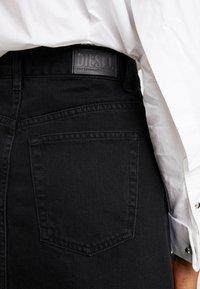Diesel - DE-SISIL SKIRT - A-line skirt - black - 4