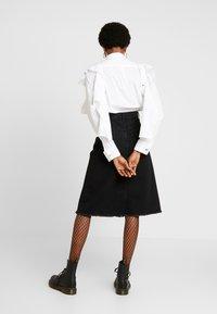 Diesel - DE-SISIL SKIRT - A-line skirt - black - 2