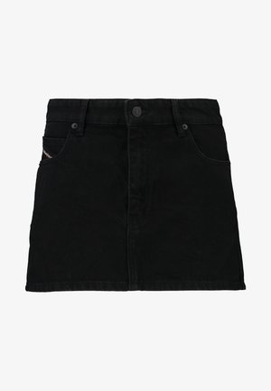 DE-EISY SKIRT - Denimová sukně - black