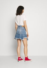 Diesel - BRYX SKIRT - Minikjol - blue denim - 2