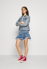 Diesel - BRYX SKIRT - Minihame - blue denim - 1