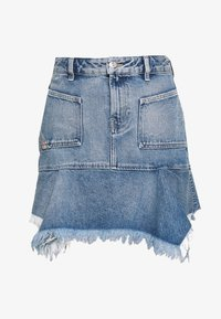 Diesel - BRYX SKIRT - Minikjol - blue denim