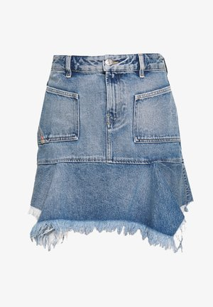 BRYX SKIRT - Minirok - blue denim